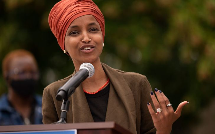Ilhan Omar lives in luxury with her family.