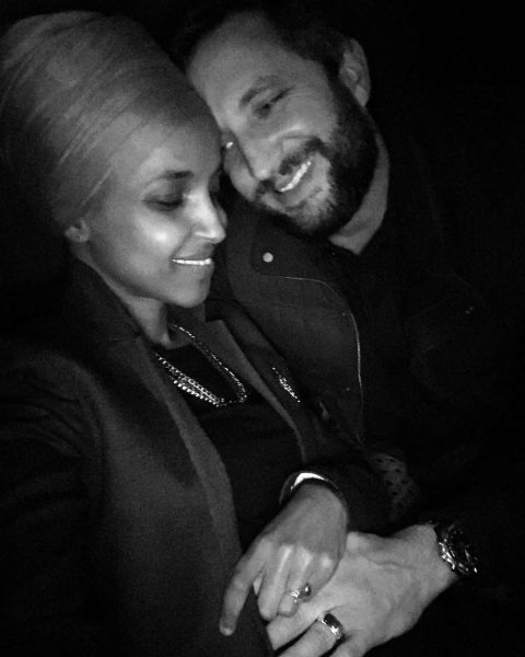 Tim Mynett and husband Ilhan Omar