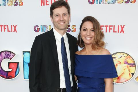 Kay Cannon and her husband.