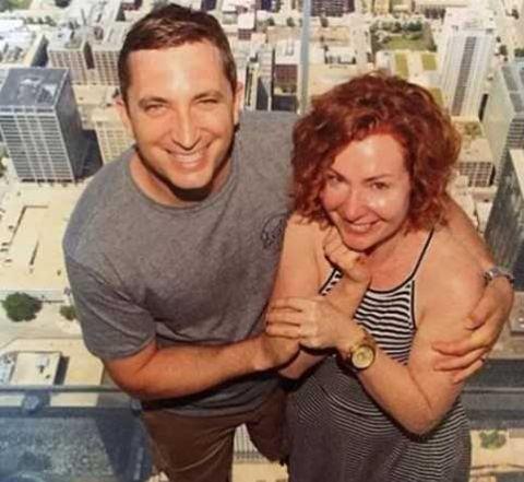 Tim Mynett and ex wife