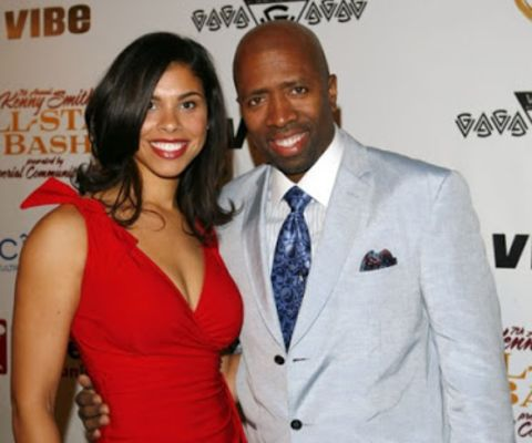 Kenny Smith first tied the knot with his ex-wife, Dawn Reavis.