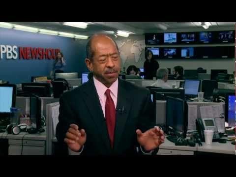 Kwame Holman live on the PBS NewsHour.