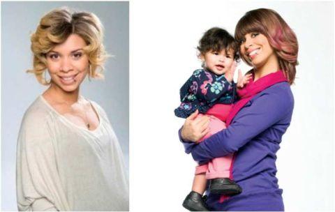 Naomi Burton-Crews and her child