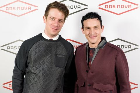 Robin Lord Taylor and husband