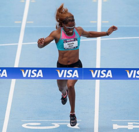 Consuella Moore's first major step as an athlete was at the 2000 World Junior Championships in Athletics.