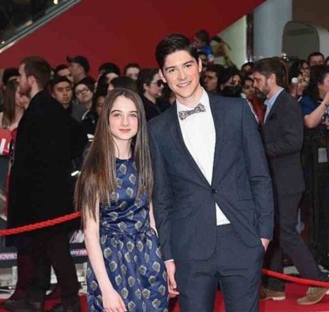 The Tomorrowland star Raffey Cassidy was born in Salford, England, to her parents.
