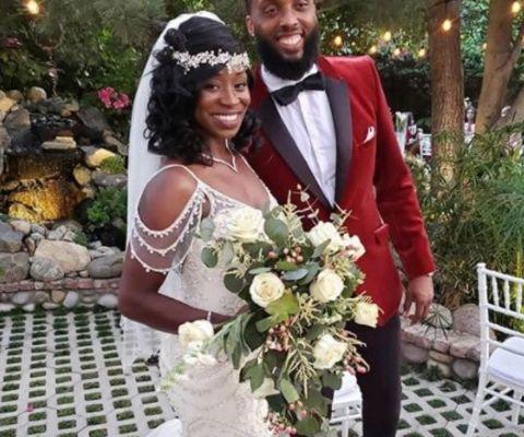 Jeneba Tarmoh tied the knot with her longtime boyfriend, Mike Danger, on September 5, 2020.