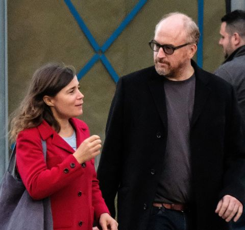 Blanche Gardin and Louis C.K came out in the about their relationship back in 2018.