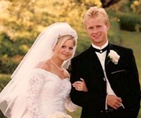 After dating for two years, the lovely couple, Valeri Bure and Candace Cameron, tied the knot on June 22, 1996.