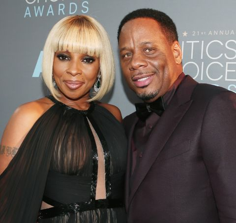 """The Umbrella Academy star Mary J. Blige was married to her ex-husband Martin """"Kendu"""" Isaacs."""