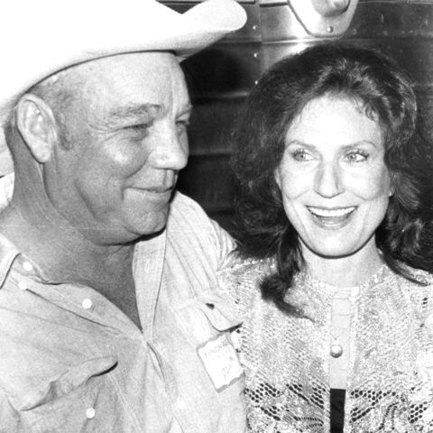 Loretta Lynn and her husband