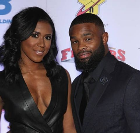 Averi Woodley and her soulmate, renowned UFC fighter Tyron Woodley attended the same university, Southern Illinois University Edwardsville.