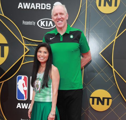 Lori Matsuoka walked down the aisle with Bill Walton, they tied the knot back in 1991.