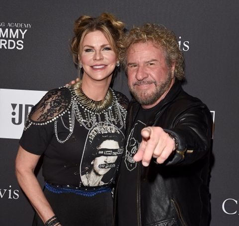 The 53-year-old beauty Kari Karte is married to her husband, Sammy Hagar.