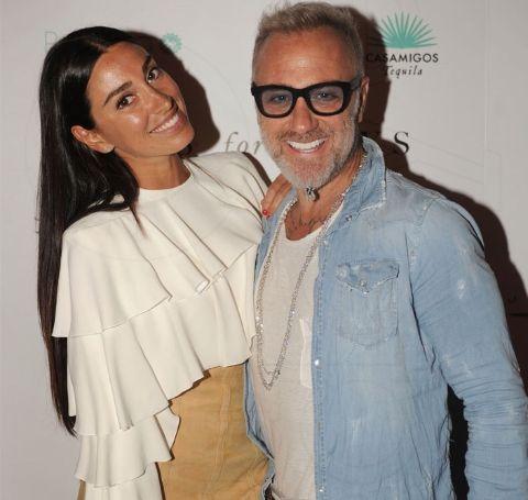 Giorgia Gabriele met her ex, Gianluca Vacchi, back in 2010