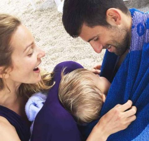 Novak and Jelena Djokovic are one of the favorite couples in the sports world.