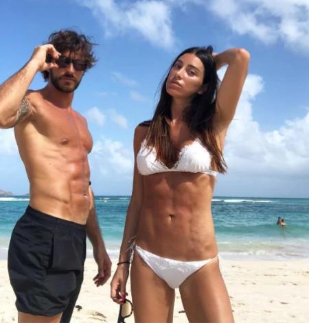 Andrea Grilli and his girlfriend Giorgia Gabriele.