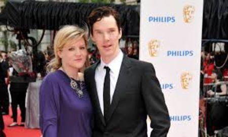 Olivia Poulet caught on the camera with ex-boyfriend Benedict Cumberbatch.