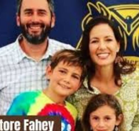 Salvatore Fahey and Libby Schaaf are parents to their son, Dominic, and daughter, Lena.