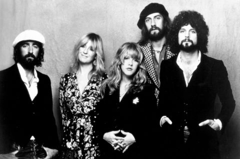 Stevie Nicks with the Fleetwood Mac