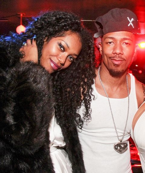 Jessica White and Nick Cannon