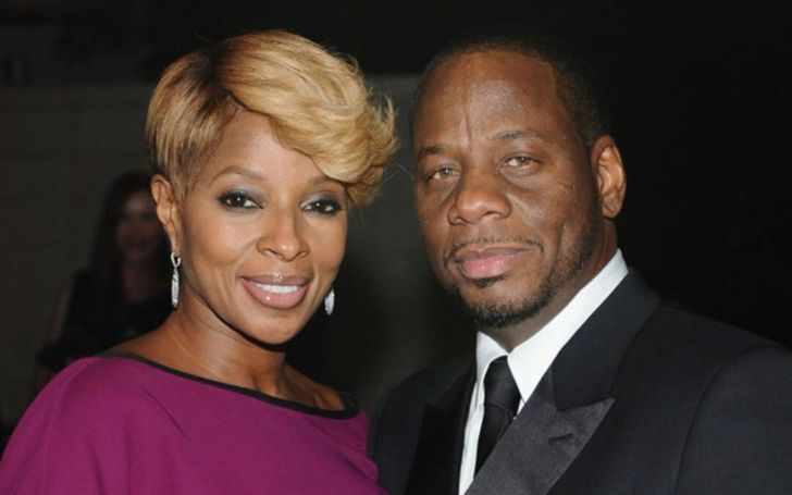 The father of three Kendu Isaacs was a married man before he tied the knot with Mary J. Blige.