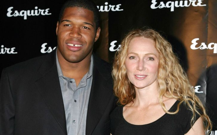 Jean Muggli was married to athlete star Michael Strahan.