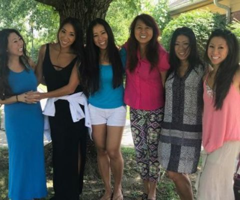 Though there isn't much to know about Christine Bui Allegra's early life, her frequent Instagram posts gave us an insight that she has four siblings, and all of them are sisters.