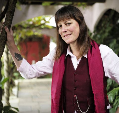 The 51-year-old Rebecca Root is one of the popular English actress, comedian, and voice coach.