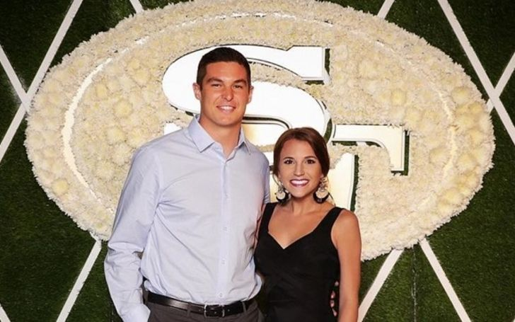 The mother of one Haleigh Hughes is married to NFL star Nick Mullens.