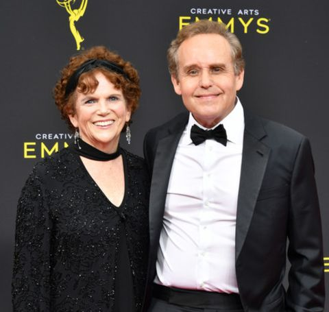 Peter MacNicol's wife, Marther, is reported to be active in social work.