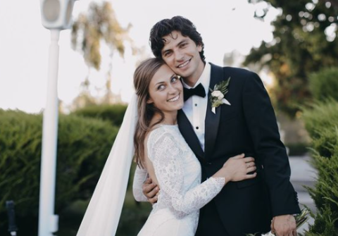 George Kosturos with his wife Lena Kosturos