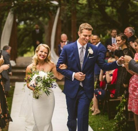 Sara Murray is enjoying her married life with her husband, Garett Haake, since April 2017.