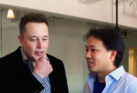 Jim Kwik with Elon Musk