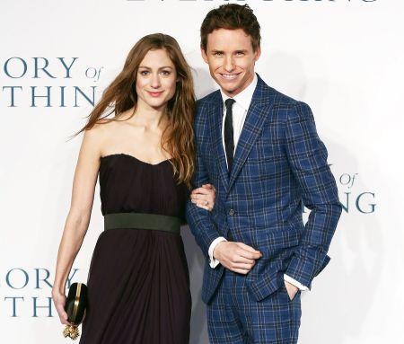 Hannah Bagshawe is the wife of Eddie Redmayne