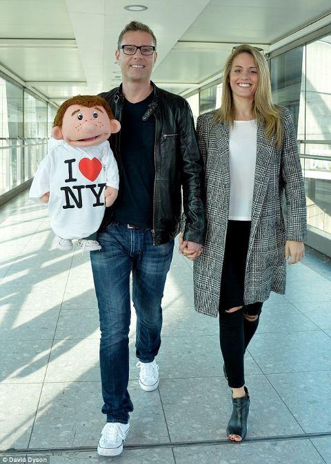 Paul Zerdin and his rumored girlfriend
