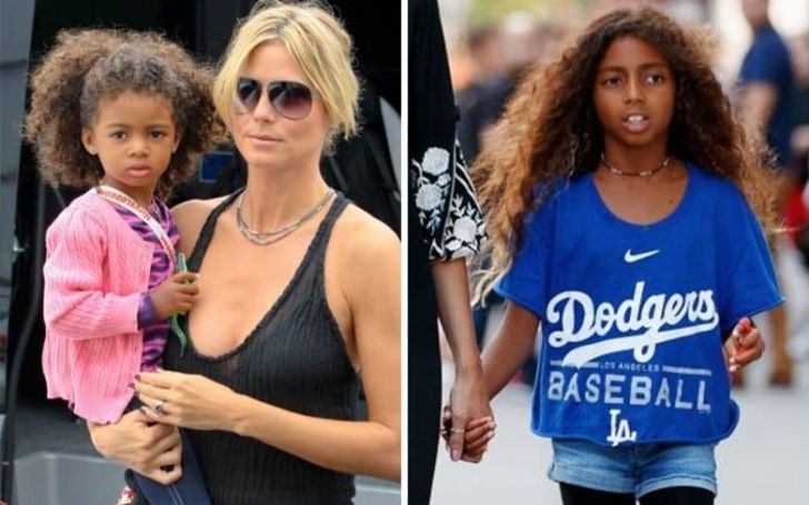 Lou Sulola Samuel is the daughter of Heidi Klum