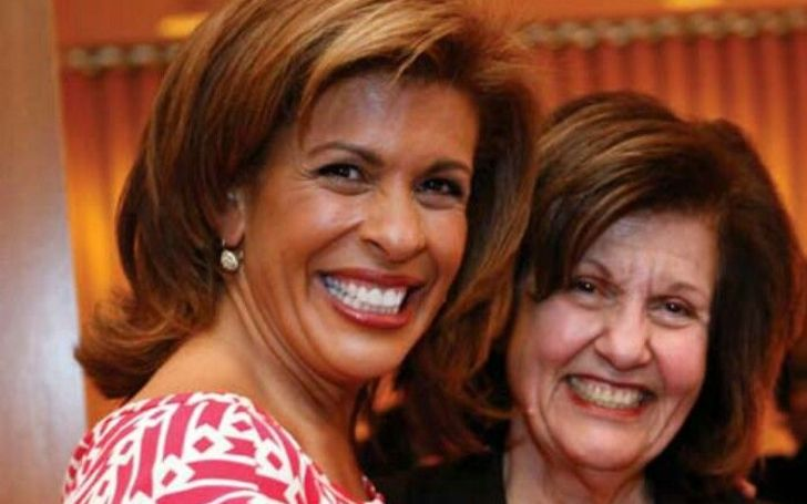 Sameha Kotb and her daughter Hoda Kotb