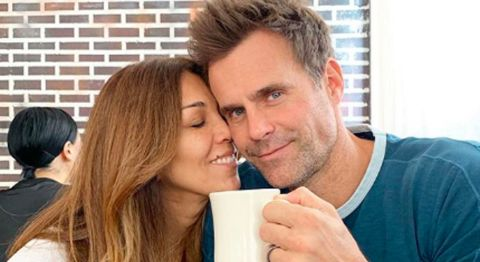 Cameron Mathison and his wife