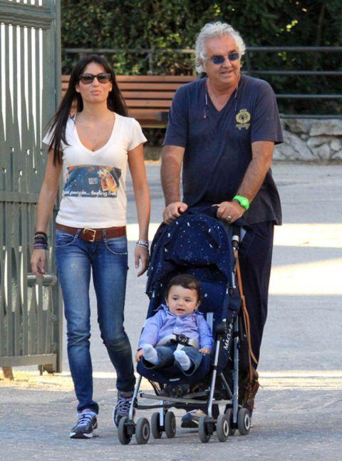 Flavio Briatore wife and kid