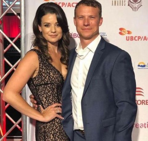 The millionaire worth businessman Scot Sustad with his celebrity wife.