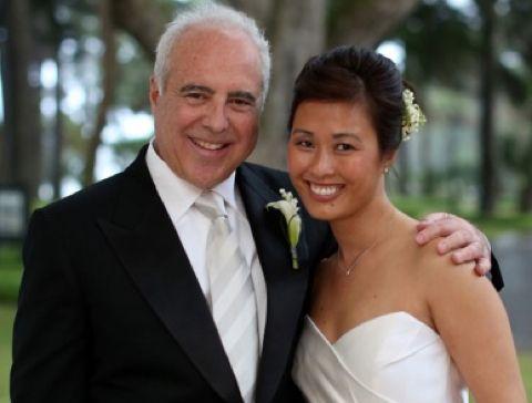 Tina Lai and her husband Jeffrey Lurie
