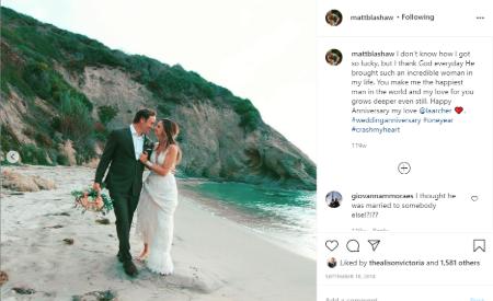Matt wedding