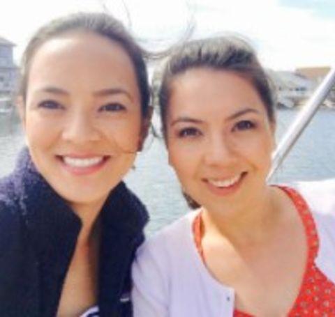 Kanae Miyahara grew up with her sister named Yoshie Miyahara.