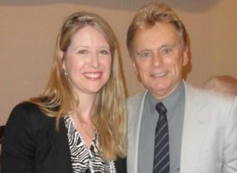 Sherrill Sajak with her former husband Pat Sajak, an American personality.