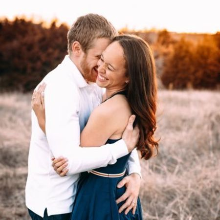 Krystin Beasley and her husband Cole Beasley