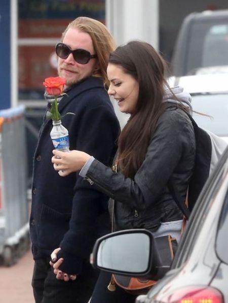 Jordan Lane Price and her ex boyfriend Macaulay Culkin