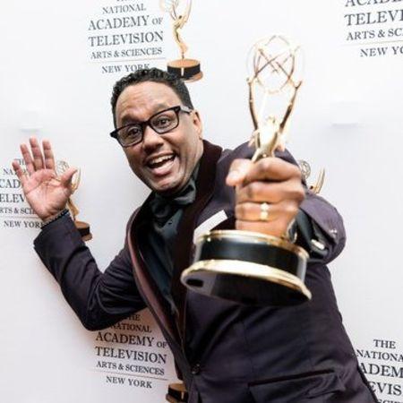 Mario Armstrong winning an academy award