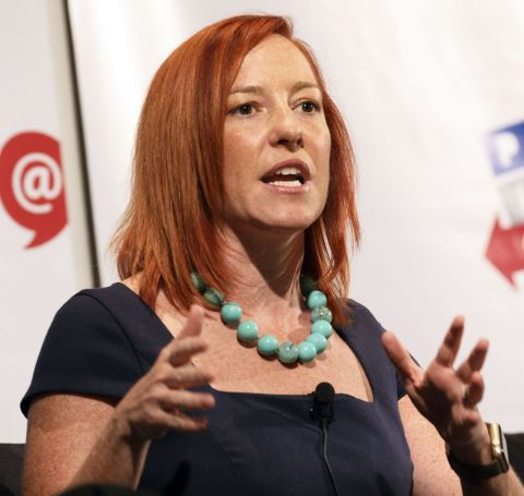 Jen Psaki began her political career in 2001 working in the re-election campaign of Iowa Democrats Tom Harkin for the U.S. Senate.