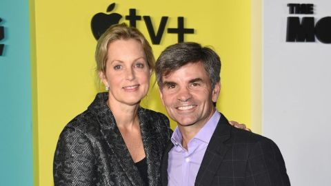 George Stephanopoulos and his wife Ali Wentworth